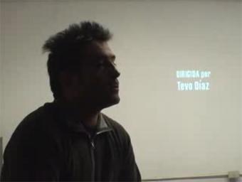 """Charla de Tevo Díaz durante presentación de """"Señales de Ruta"""" en librería Gonzalo Rojas, editorial FCE, Santiago de Chile, 12 de septiembre de 2007. Registro de """"Voyeur de la Poesía""""."""