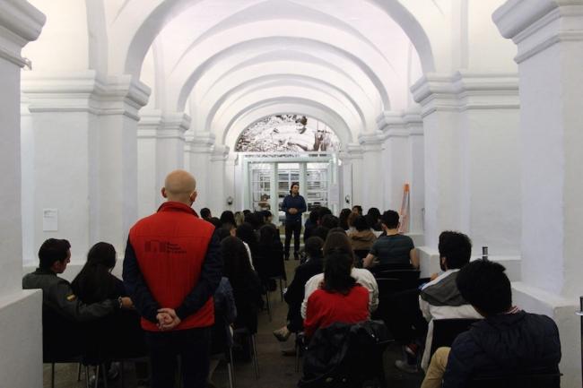 Curso de formación para voluntarios del Museo Nacional de Colombia. Foto: http://www.museonacional.gov.co