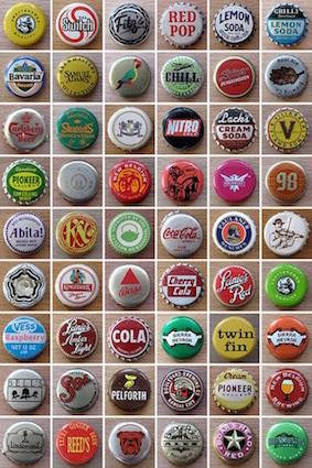 Colección de Tapas de Botella. Foto: http://www.colchonero.com