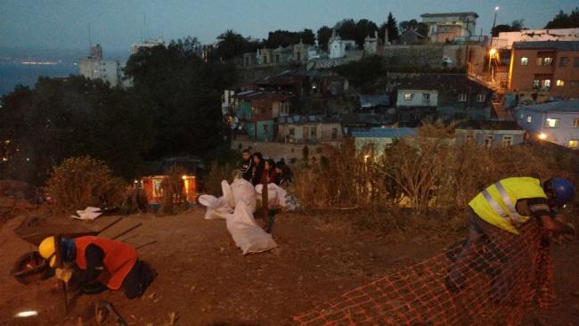 Rabia en Las Ruinas, Valparaíso, 2016